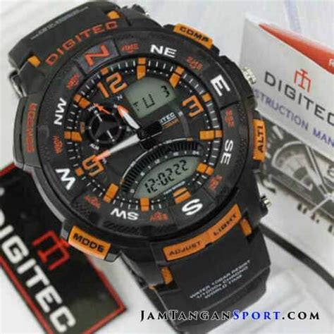 Digitec Dg 2079 Black Orange gambar jam tangan digitec dg 2057t black grey seri sport 2018