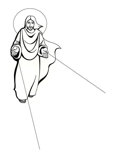 imagenes de jesus resucitado para imprimir el rinc 243 n de las melli dibujo jes 250 s resucitado