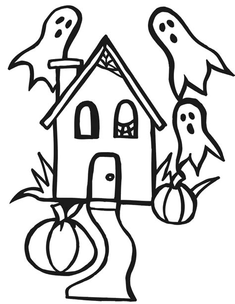 coloring pages halloween haunted house halloween haunted house coloring pages printables car