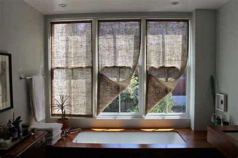 cheap burlap curtains best 25 burlap window treatments ideas on pinterest