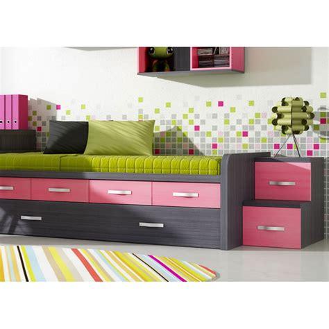cama nido con dos camas y cajones 022 compacto dos camas y cajones mesa estudio y escalera