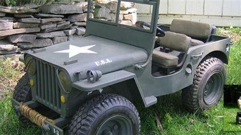 wwii jeep willys amazing mini gocart wwii willys jeep replica