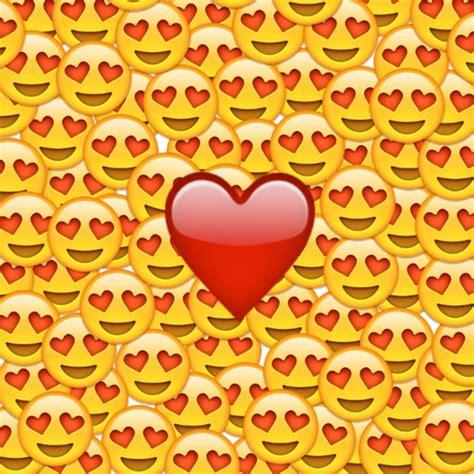 imagenes del emoji enamorado emoji enamorado amor uploaded by cici g on we heart it