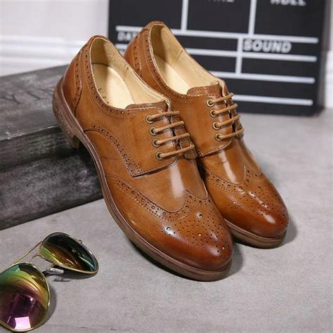Handmade Shoes Cape Town - yinzo brand 2017 genuine leather shoes vintage