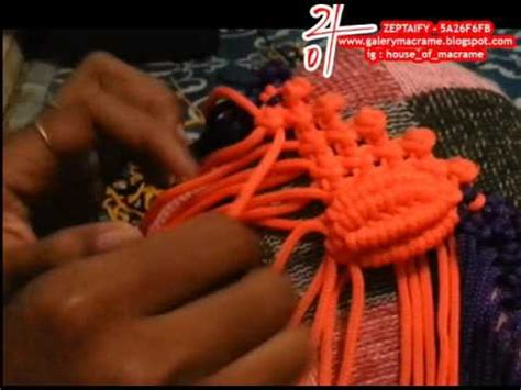 tutorial tali kur motif kerang tutorial membuat tas tali kur motif kerang besar part 1