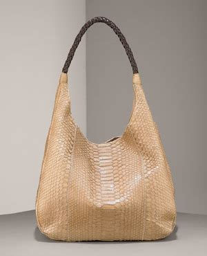 Carlos Falchi Medium Boat Hobo by Carlos Falchi Python Grande Boat Hobo Snob Essentials