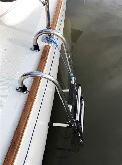 boat boarding stairs boarding ladders west marine