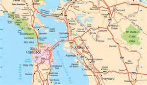 Map Of San Francisco Bay by San Francisco Maps For Visitors Bay City Guide San