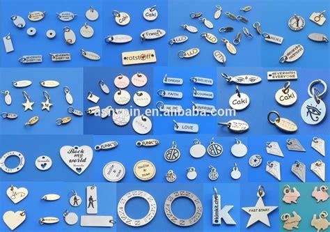 Customized Small Logo Jewelry Beads For Bracelet   Buy Personalized Logo Metal Jewelry Beads
