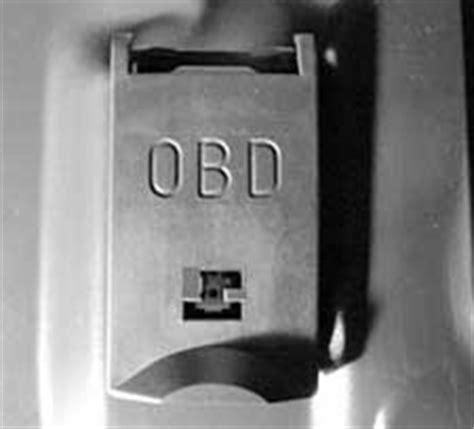 Bmw 1er Obd Stecker by Bmw Diagnosebuchse Obd 2 Net Das Fahrzeugdiagnose