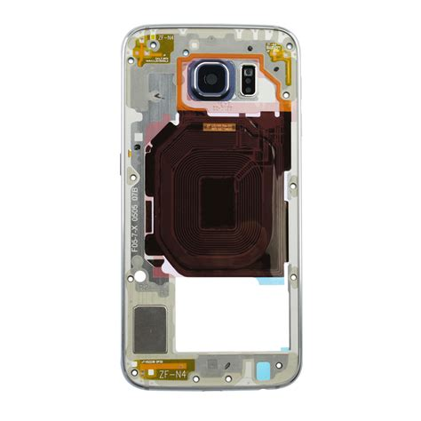 Samsung S6 Single Sim Samsung Galaxy S6 Midframe And Bezel Black Single Sim