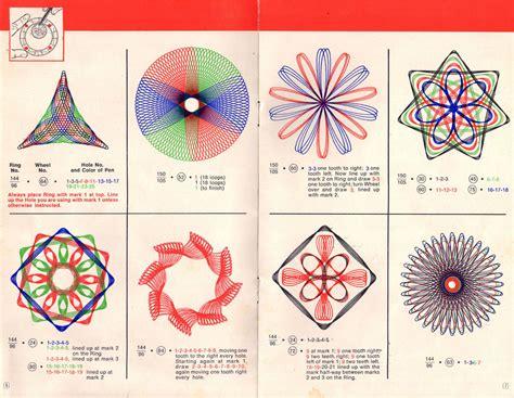 Spirograph Pattern Instructions | spirograph wewanttolearn net
