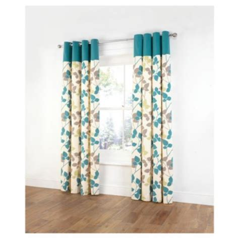 tesco curtains uk buy tesco bold leaf print unlined eyelet curtains from our