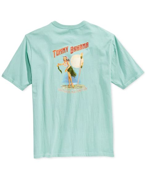 bahama shirts bahama wardrobe malfunction t shirt in blue for lyst