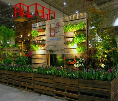 pallet garden wall pallets made wood wall planter ideas pallet ideas