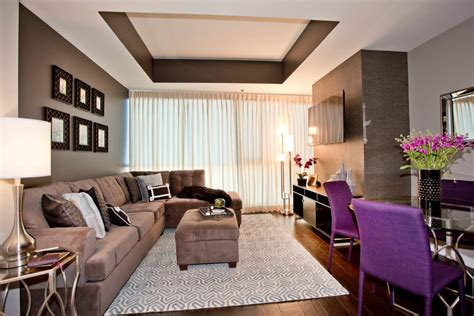 Tray Ceiling Ideas Living Room 23 Brown Living Room Designs Decorating Ideas Design
