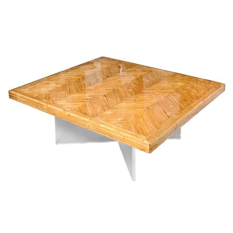 Acrylic Bamboo Lucite Base Coffee Table On Antique Row Lucite Coffee Table Base
