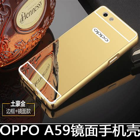 Paket Oppo A59 F1s A 59 Luxury Casing Premium Backcase Hardcase Bump 2 ultra thin gold mirror for oppo f1s a59 luxury aluminum metal frame acrylic back phone
