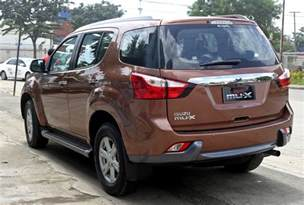 Isuzu Phillipines Isuzu Mux Vs Traiblazer 2014 In The Philippines Html
