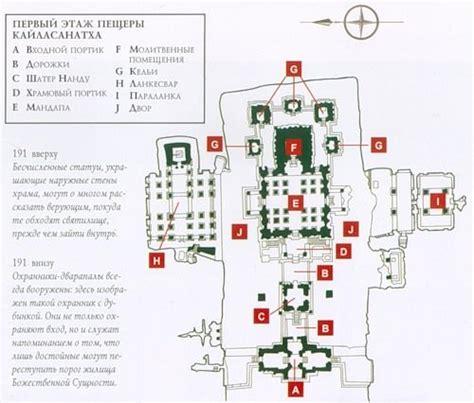 hindu temple floor plan kailasa temple also known as kailasanatha 1st floor plan