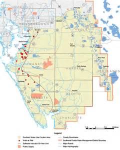 map of west central florida west central florida water restoration plan