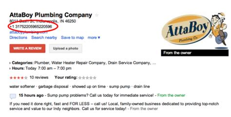 Attaboy Plumbing by Places Bugs The Smooshed Phone Number Bug