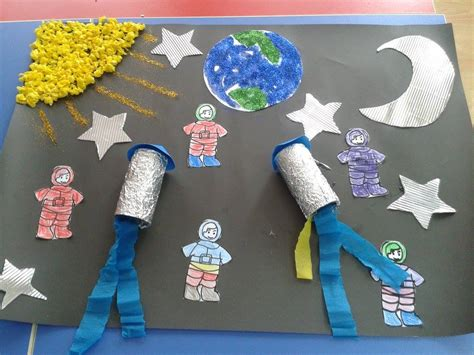 astronaut craft for preschool astronaut and space unit crafts for