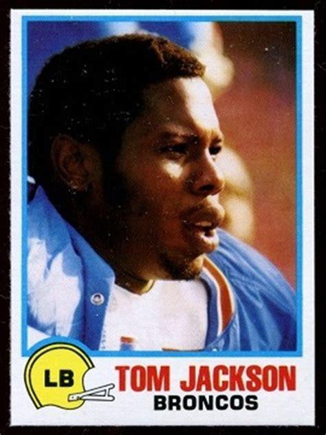 tom jackson football tom jackson 1978 holsum bread 8 vintage football card