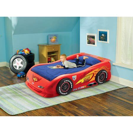 Disney Cars Bed by Disney Cars Lightning Mcqueen Bed Walmart
