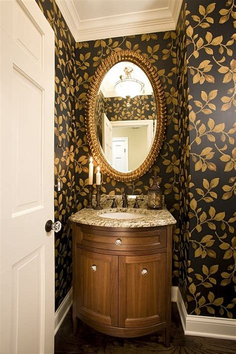 Bathroom Vanity Decorating Ideas by Guest Bathroom Powder Room Design Ideas 20 Photos