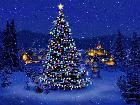 holiday lights screensavers free email forwards fun beautiful winter christmas trees