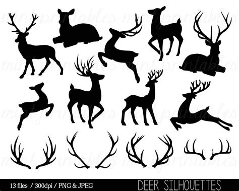 Reindeer Silhouette Clipart Black And White Google Search Templates Silhouettes Zentangles Reindeer Silhouette Template