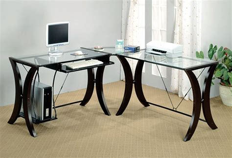 Cappuccino L Shaped Desk 10 Best Corner Computer Desk Table For Graphic Designers