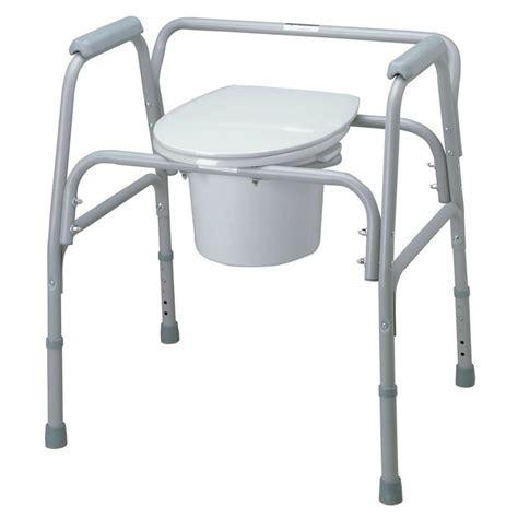 bariatric elevated toilet seat medline bariatric bedside elevated toilet seat in gray