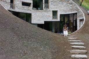 underground home underground residence in switzerland freshome