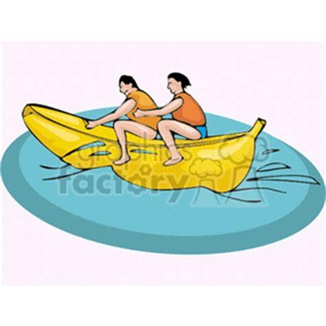 banana boat ride cartoon royalty free banana boat ride 139903 vector clip art image