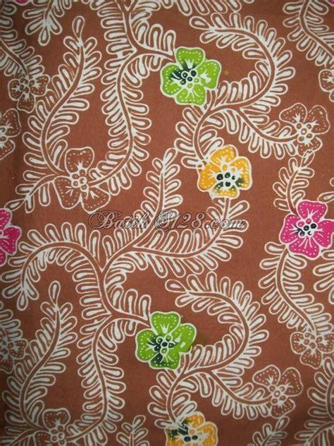 Kain Batik Bola Coklat kain batik warna coklat batik cap kombinasi tolet asli