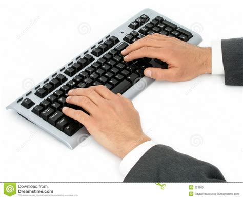 free stock photo hands over keyboard businessman s hands on computer keyboard stock image