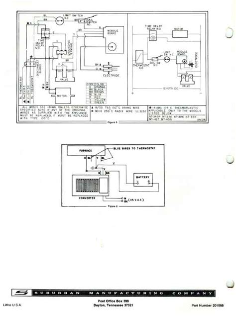 suburban furnace wiring diagram 31 wiring diagram images
