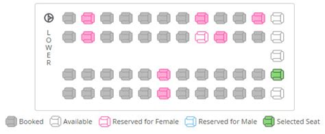 volvo seat availability best websites to book tickets in india
