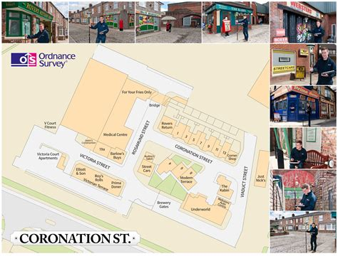 Country Floor Plans ordnance survey blog 187 putting coronation street on the map