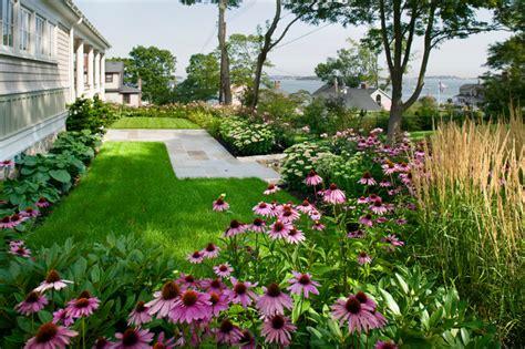 Front Patio Decor Ideas seaside hilltop traditional landscape boston by