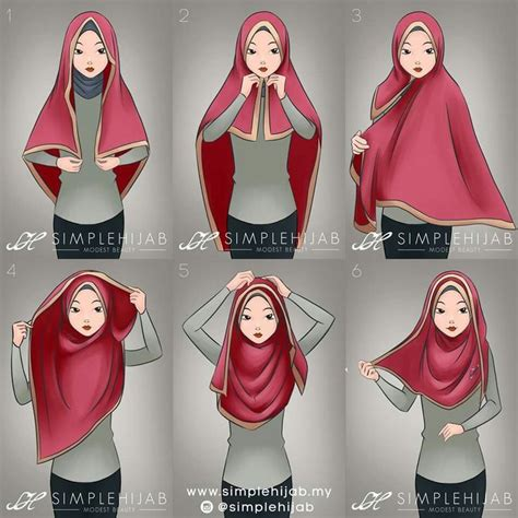 Square Hijup square tutorial most useful with a wide square or a wide shawl hijaab