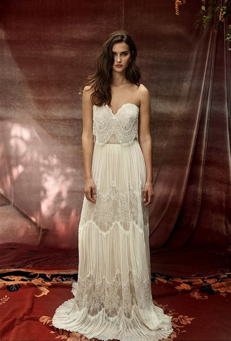 Beautifully Boho Style Blogs by Beautiful Boho Wedding Gowns For 2016 Lihi Hod Quot White