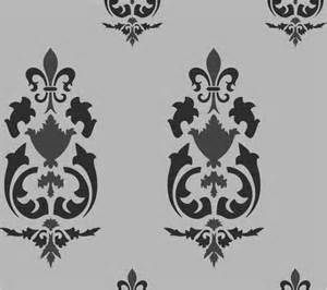 buy large vintage style pattern wall stencils online