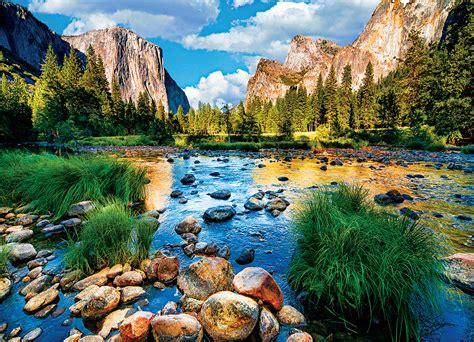 yosemite national park california pc jigsaw puzzle
