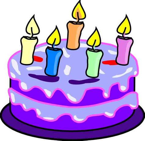 birthday clipart free cake clip pictures clipartix