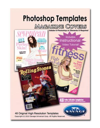 Savage Adobe Photoshop Templates Magazine Covers Ebay Photoshop Magazine Template
