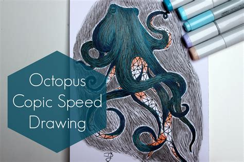 Speed Sketches Q A Update by Quot Octopus Quot Copic Speed Drawing