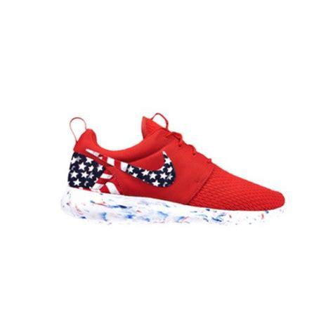 american flag sneakers womens size custom roshe run running shoes american flag